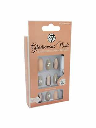 Picture of £3.99 GLAMOUROUS NAILS GOLDEN SAHARA (12