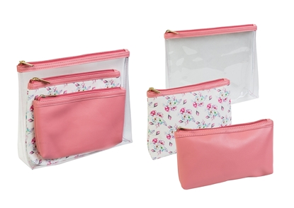 Picture of £9.99 MELBA ROSE 3PC BAG SET