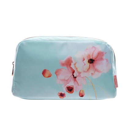 Picture of £14.99 DANIELLE FLORAL DUO ZIP PURSE (4)