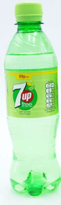 Picture of £0.89 7 UP LIGHT 375ml BOTTLE (24)