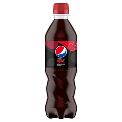 Picture of £0.89 PEPSI MAX RASPB. 375ml BOTTLE (24)