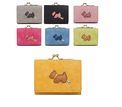 Picture of £8.99 SCOTTY DOG CLASP PURSES SQUARE (7)
