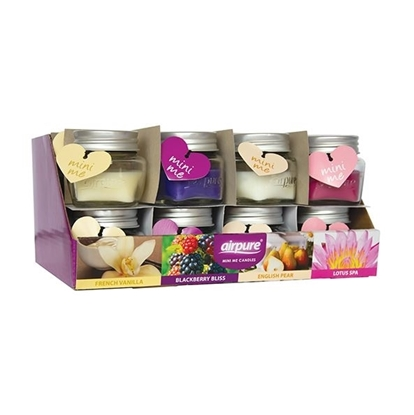 Picture of £0.79 AIRPURE FLORAL CANDLES (24)