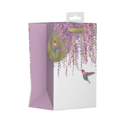 Picture of £0.99 HUMMINGBIRD GIFT BAG MED (12)