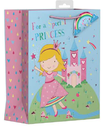 Picture of £1.29 PRINCESS GIFT BAG LGE (12)