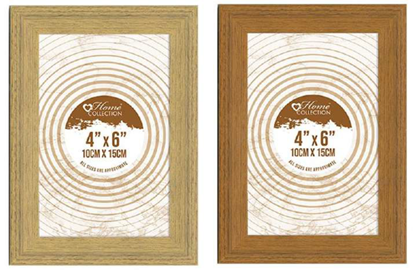 Picture of £1.99 DALAMARE 4x6 WOOD FRAMES (12)