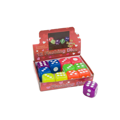 Picture of £1.00 FLASHING DICE (12)
