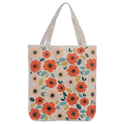 Picture of £3.99 COTTON SHOPPING BAG POPPY