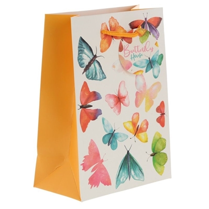 Picture of £0.49 GIFT BAGS BUTTERFLY MEDIUM