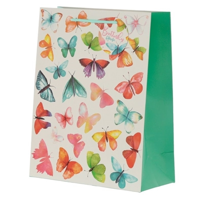 Picture of £0.99 GIFT BAGS BUTTERFLY LARGE
