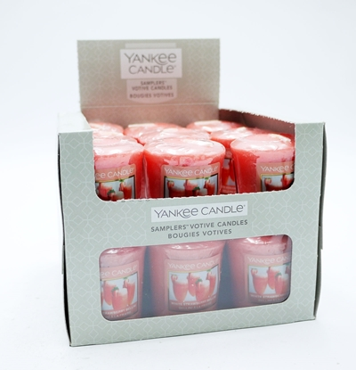 Picture of £1.00 CANDLES YANKEE VOTIVE STRAWB. (18)