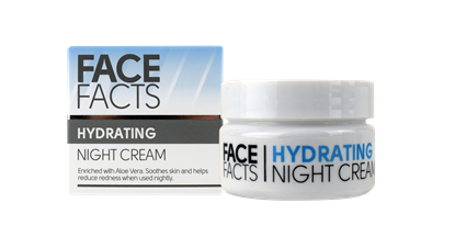 Picture of £1.00 FACE FACTS NIGHT CREAM 50ml