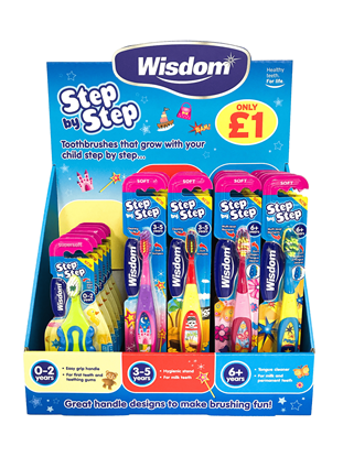 Picture of £1.00 WISDOM FIRST STEPS CDU UNIT (28)