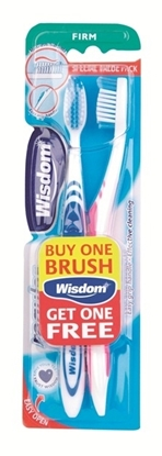 Picture of £1.00 WISDOM TWIN TOOTHBRUSHES FIRM