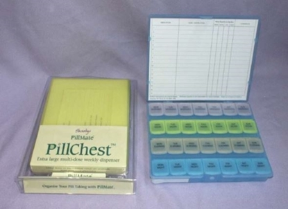 Picture of £13.99 PILLMATE PILL CHEST