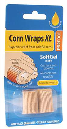 Picture of £3.05 PRO-FOOT CORN WRAPS X-L (6)