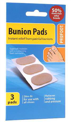 Picture of £1.75 PRO-FOOT BUNION PADS (6)