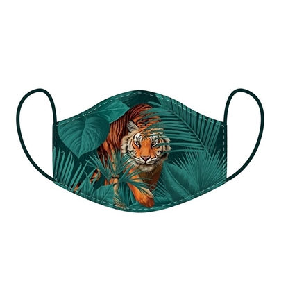 Picture of £2.49 FACE MASKS RE-USE ADULT TIGER (10)