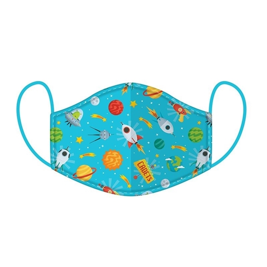Picture of £2.49 FACE MASKS RE-USE KIDS SPACE (10)