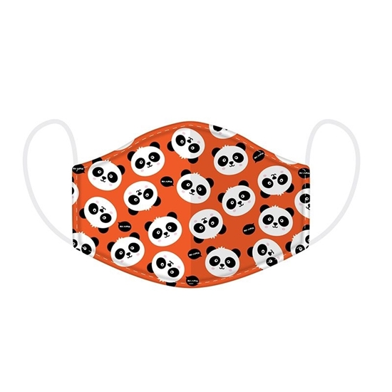 Picture of £2.49 FACE MASKS RE-USE KIDS PANDA (10)