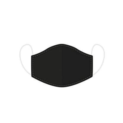 Picture of £2.49 FACE MASKS RE-USE ADULT BLACK (10)
