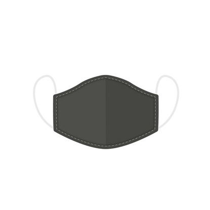 Picture of £2.49 FACE MASKS RE-USE ADULT GREY (10)