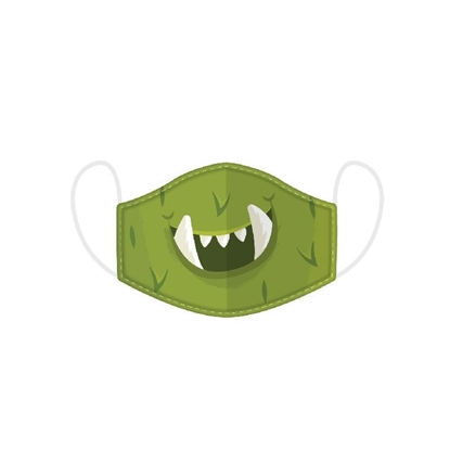 Picture of £2.49 FACE MASKS RE-USE KIDS MONSTER (10