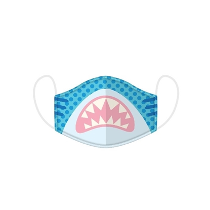 Picture of £2.49 FACE MASKS RE-USE KIDS SHARK