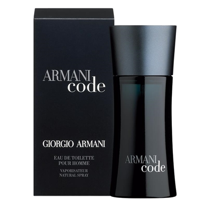 Picture of £72.00/66.00 ARMANI CODE MENS EDT 75ML
