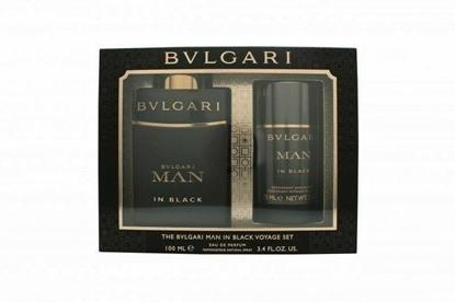 Picture of £87.00/65.00 BVLGARI MAN IN BLACK G/SET