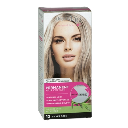 Picture of £1.00 DERMA HAIR COL. SILVER GREY 12
