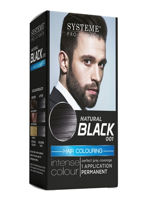 Picture of £1.00 MEN'S HAIR COLOUR NAT BLACK