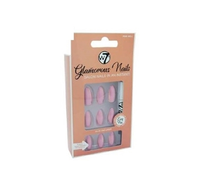 Picture of £3.99 GLAMOUROUS NAILS PINK BELL (12)