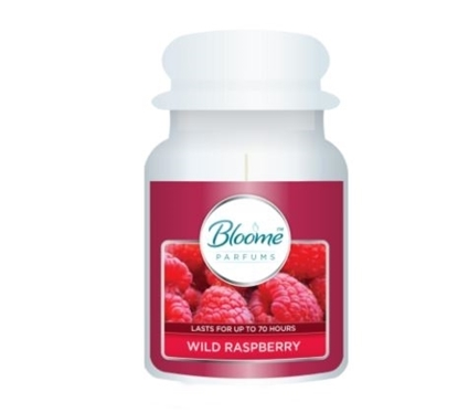 Picture of £4.99 BLOOME CANDLE 18oz RASPBERRY