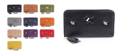 Picture of £8.99 LADIES RECTANGLE PURSES SCOTTY AST