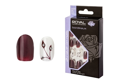 Picture of £2.99 ROYAL BORDEAUX NAILS