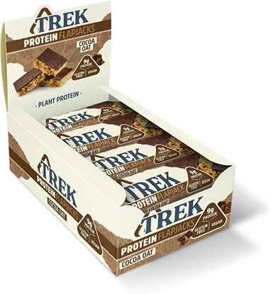 Picture of £1.00 TREK COCOA OAT FLAPJACK 50g