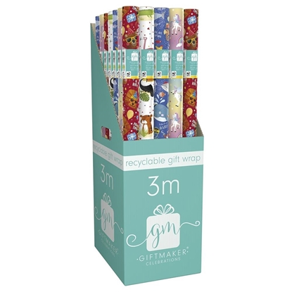 Picture of £1.00 KID'S 3M GIFT WRAP