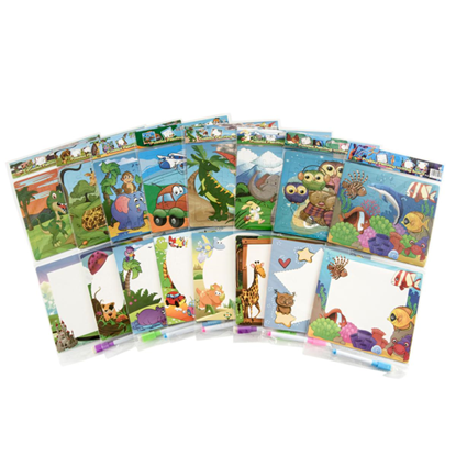 Picture of £1.00 PUZZLE & BOARD SET 8 ASSTD