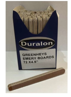 Picture of £0.39 EMERY BOARDS 4.5 INCH (72)