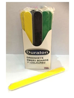 Picture of £0.39 EMERY BOARDS 7 INCH COLOURS (72)