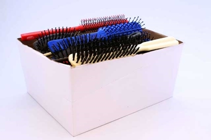 Picture of £0.79 HAIR BRUSHES ASSTD BOX (24)