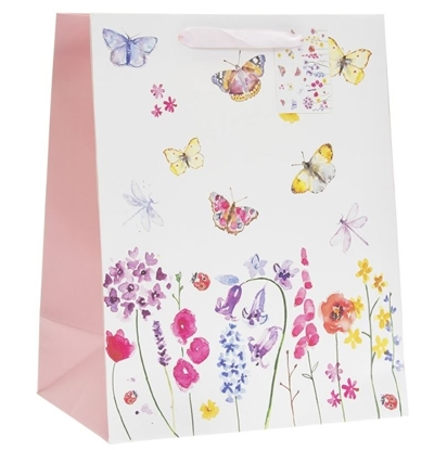 Picture of £0.99 BUTTERFLY GIFT BAGS MEDIUM