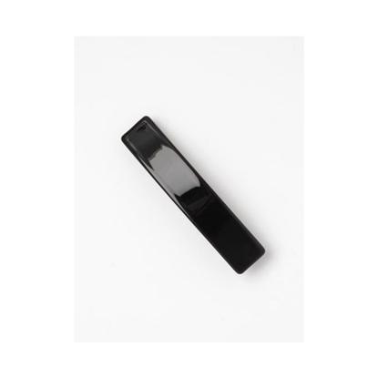 Picture of £1.00 MOLLY ROSE 8.5cm BLACK BARRETTE