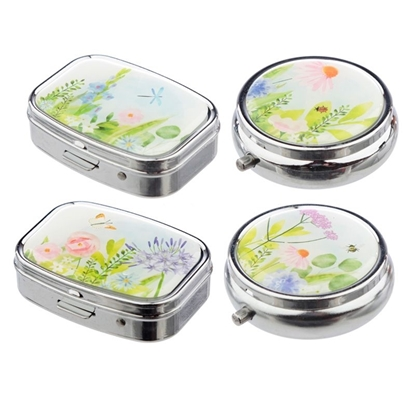 Picture of £2.49 BOTANICAL GARDEN PILL BOXES