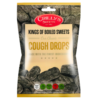 Picture of £1.00 CRILLYS COUGH SWEETS 150g