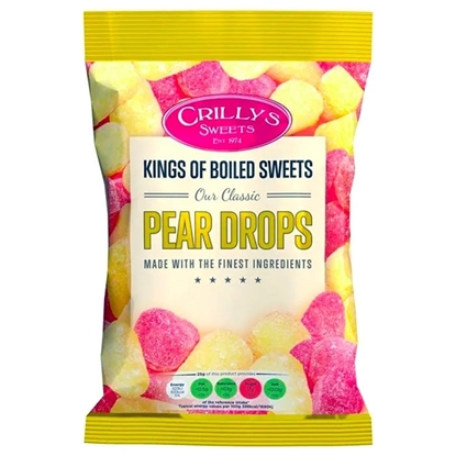 Picture of £1.00 CRILLYS PEAR DROPS 160g
