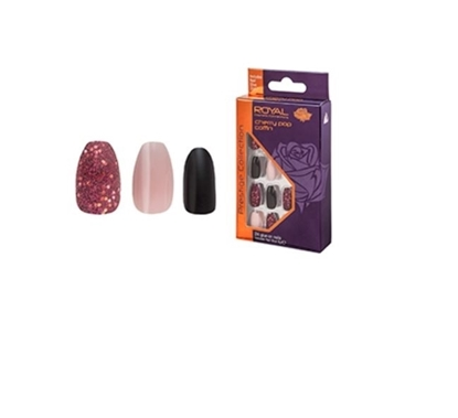 Picture of £3.99 ROYAL CHERRY POP NAILS