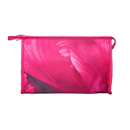 Picture of £9.99 FUCHIA FLORAL SMALL COSMETIC BAG