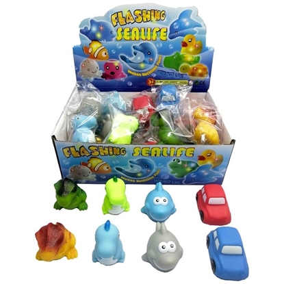 Picture of £1.99 ANIMALS & CARS LIGHT UP BATH TOYS